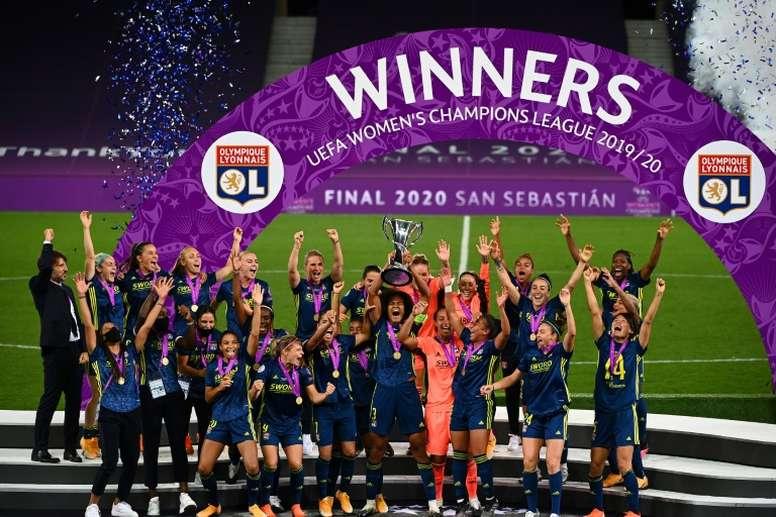 Lyon saw their long unbeaten run come to an end last week. AFP