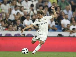 Inter Milan will take legal action over comments made about Luka Modric. AFP