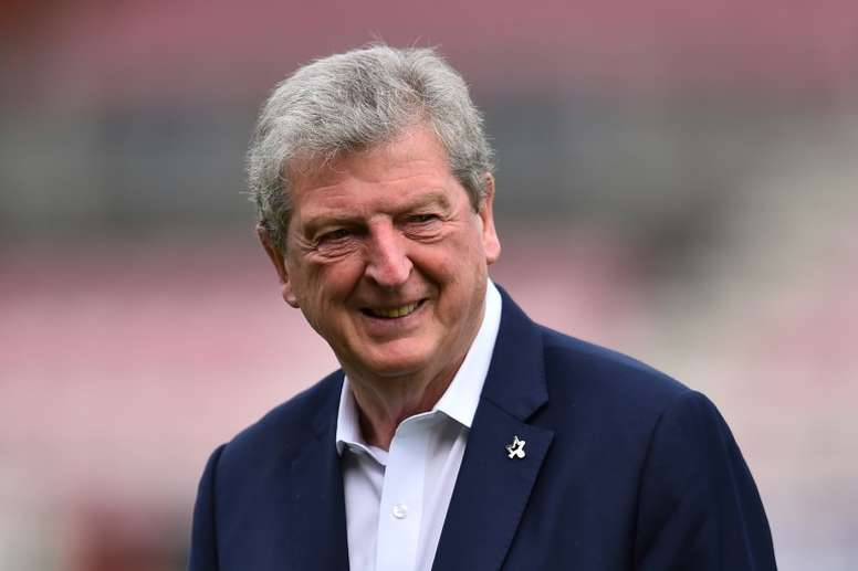 Hodgson steered Palace to safety. AFP