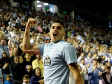 Maxi Gomez has joined Valencia from Celta Vigo. AFP