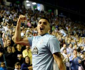 Maxi Gomez has joined Valencia from Celta Vigo. AFP