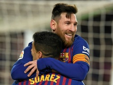 Nothing surprise me anymore, says Messi lamenting Suarez departure. AFP