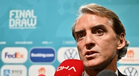 Italy coach Mancini wary of 'solid' Wales. AFP