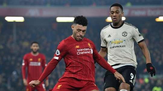 Manchester United - Liverpool au 4e tour de la FA Cup. afp