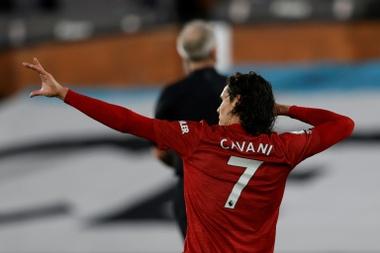 Edinson Cavani has impressed since joining Man Utd in the summer. AFP