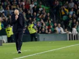 O dia em que Zidane pediu para não ser mais driblado. AFP