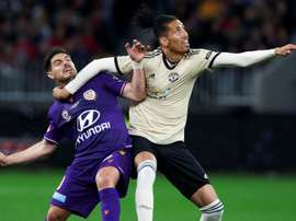 Smalling is looking to make a lasting impact for Roma. AFP