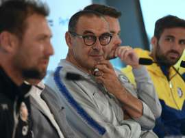Sarri looks set to be left disappointed. AFP