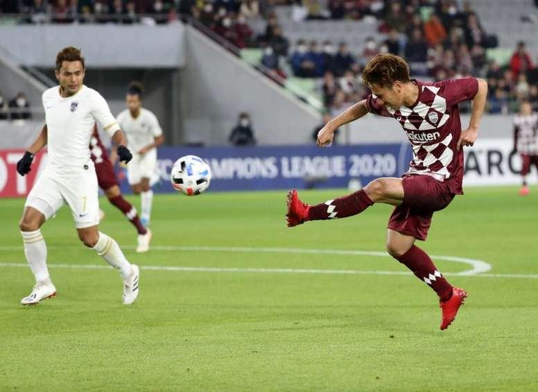 Vissel Kobe won 5-1. AFP