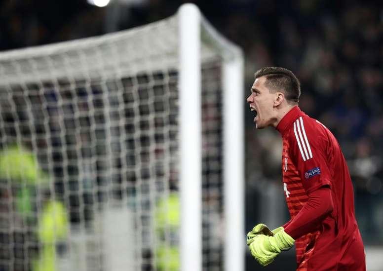 La Juventus envisage de prolonger szczesny. AFP
