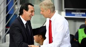 Emery fait moins bien que Wenger. AFP