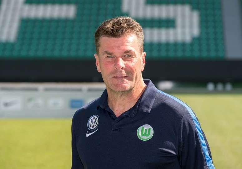 Dieter Hecking was sacked as Wolfsburg coach in October. AFP