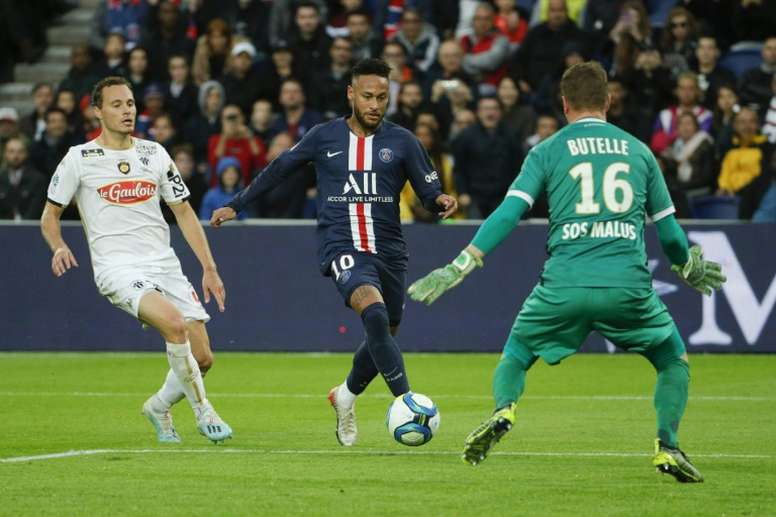 Neymar is back to his best! AFP