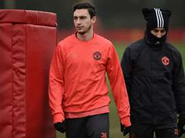 Darmian is headed back to his homeland. AFP