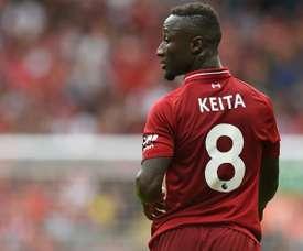 Naby Keita sera appelé par le sélectionneur de la Guinée. AFP