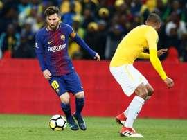 Escalações de Barcelona e Levante pela 22ª rodada da LaLiga. AFP