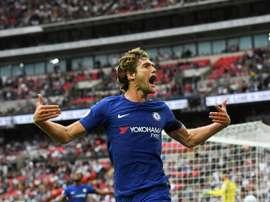 O Chelsea recebeu e venceu o Southampton. AFP