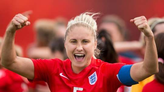 Captain Steph Houghton returns to the England side as captain. AFP