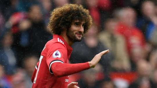 Belgium manager Roberto Martinez selected Jose Fellaini