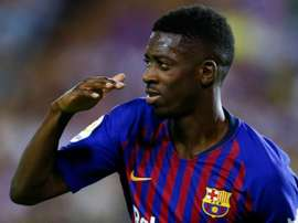 Dembele, Griezmann give Barcelona and Atletico narrow wins in La Liga