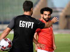 Salah will look to lead Egypt to AFCON glory on home soil. AFP