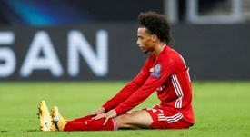 Leroy Sane is back in the Bayern squad for the match with Eintracht Frankfurt. AFP