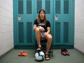 Stephanie Labbe is likely to be in goal for Canada in this summer's World Cup. AFP
