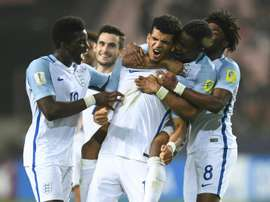 England's U-20 squad can become World Champions. AFP