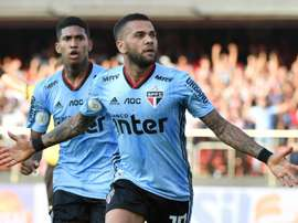 Dani Alves debut sees him score the winning goal. AFP