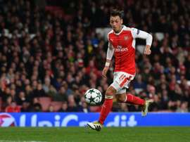 Ozil keeps improving. AFP