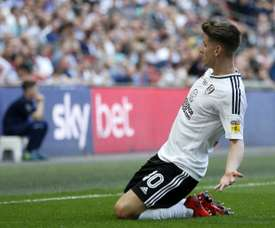 Fulham's Tom Cairney scored in the play-off final for Fulham. AFP