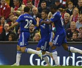 ¿Será Hazard nombrado mejor jugador del mes de agosto? AFP