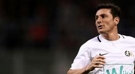 Javier Zanetti n'a rien à reprocher à Messi. AFP