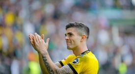 Christian Pulisic is looking to make an impact. AFP