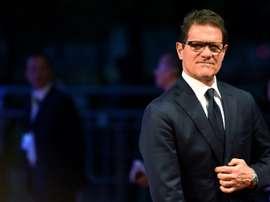 Capello compare le jeu de la Juve avec celui des clubs anglais. AFP