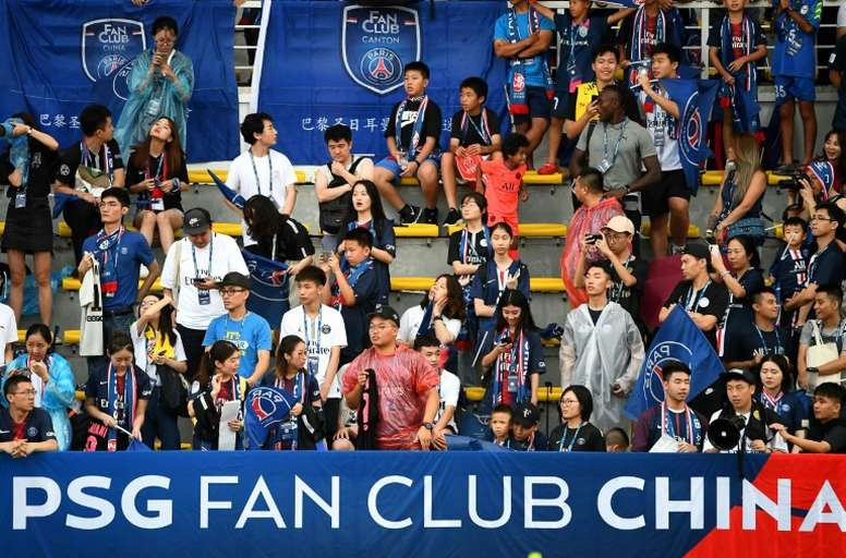 PSG and Bayern Munich have looked to become well known in China. AFP
