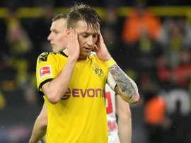 Reus, forfait face au PSG. AFP