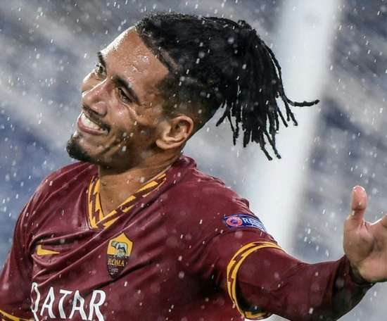 Smalling will sign a permanent deal with Roma. AFP