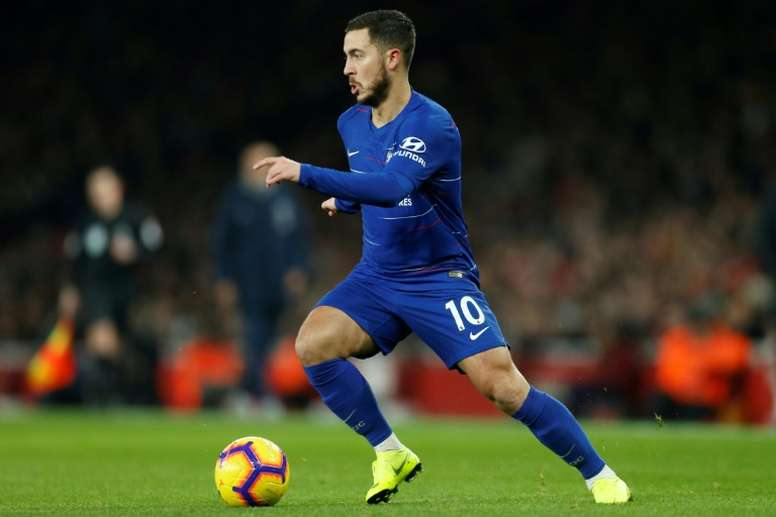 Hazard believes Sarri's style of football is more suited to him. AFP