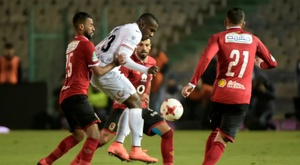 Kasongo scored twice for Zamalek. AFP