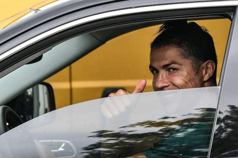 Cristiano Ronaldo has become the first footballer to earn over one billion euros. AFP