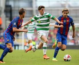 Christie is fast becoming a key player for Celtic. AFP
