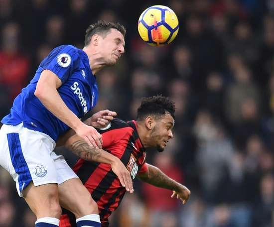 Phil Jagielka may move to Celtic after not renewing his Everton contract. AFP