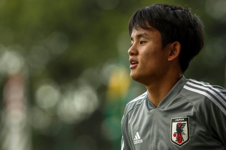 El'Messi japonés firmará con el Madrid según los medios de su país. AFP