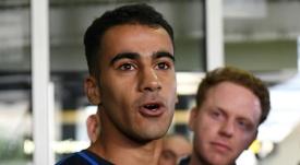 Hakeem al Araibi ya es ciudadano australiano. AFP