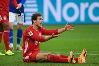 Goretzka perto de renovar com o Bayern.AFP