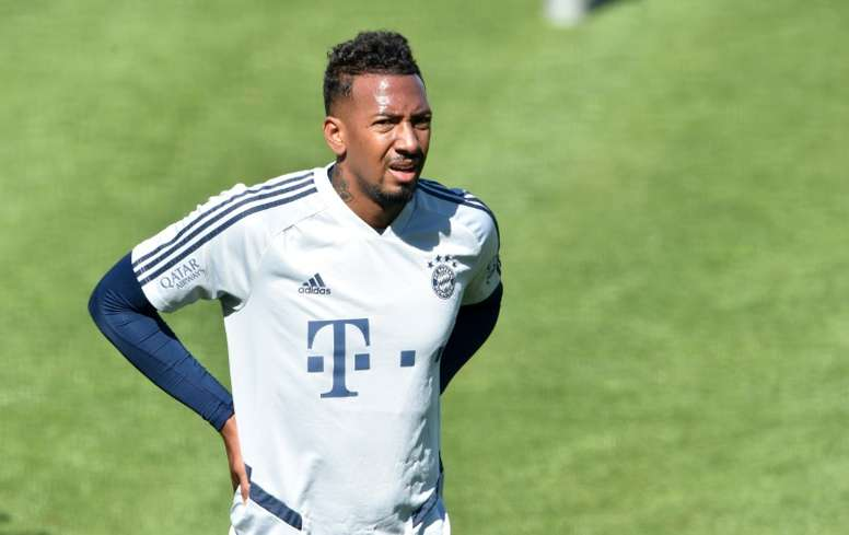 Boateng has called on white sportspeople to add voices to Floyd protests. AFP