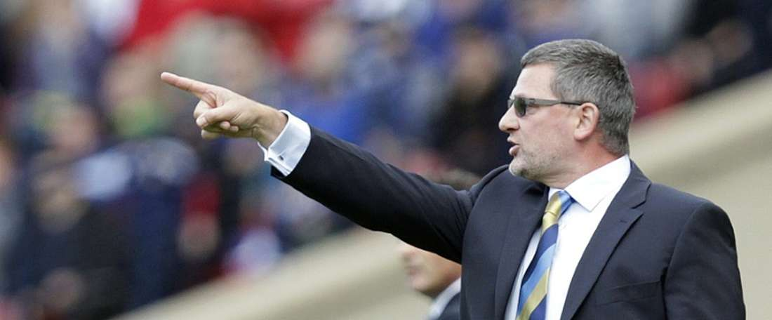 Levein hopes that his captain will be available for the game. AFP