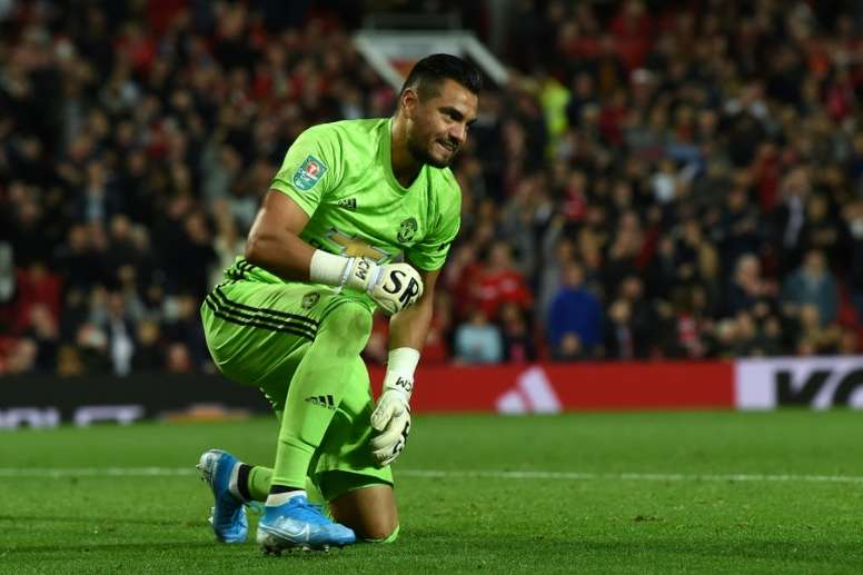 Sergio Romero is finally about to leave Man Utd. AFP