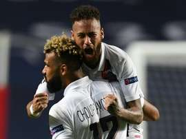 Eric Choupo-Moting scored the winner for PSG as they beat Atalanta 2-1. AFP